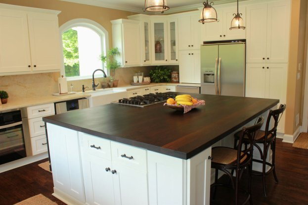 Wenge Plank style San Diego - The Countertop Company